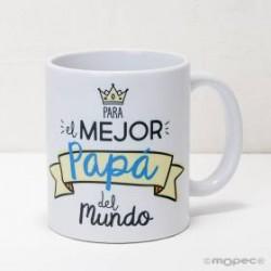TAZA MEJOR PAPÁ